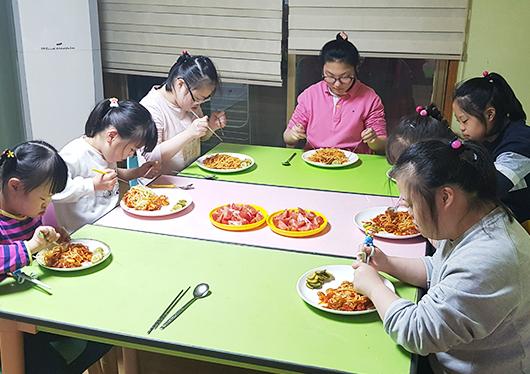 맞춤형 식사 제공