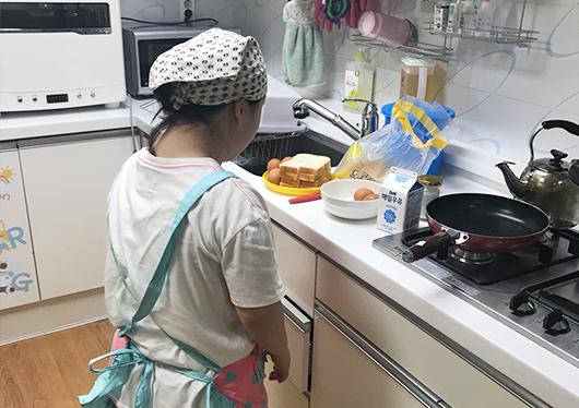 자립지원하는다양한 식문화 프로그램
