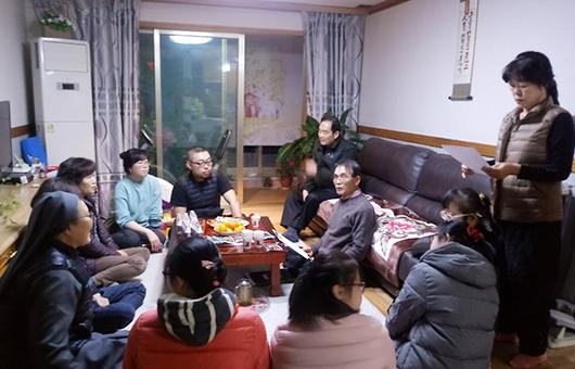 주민회의 참석